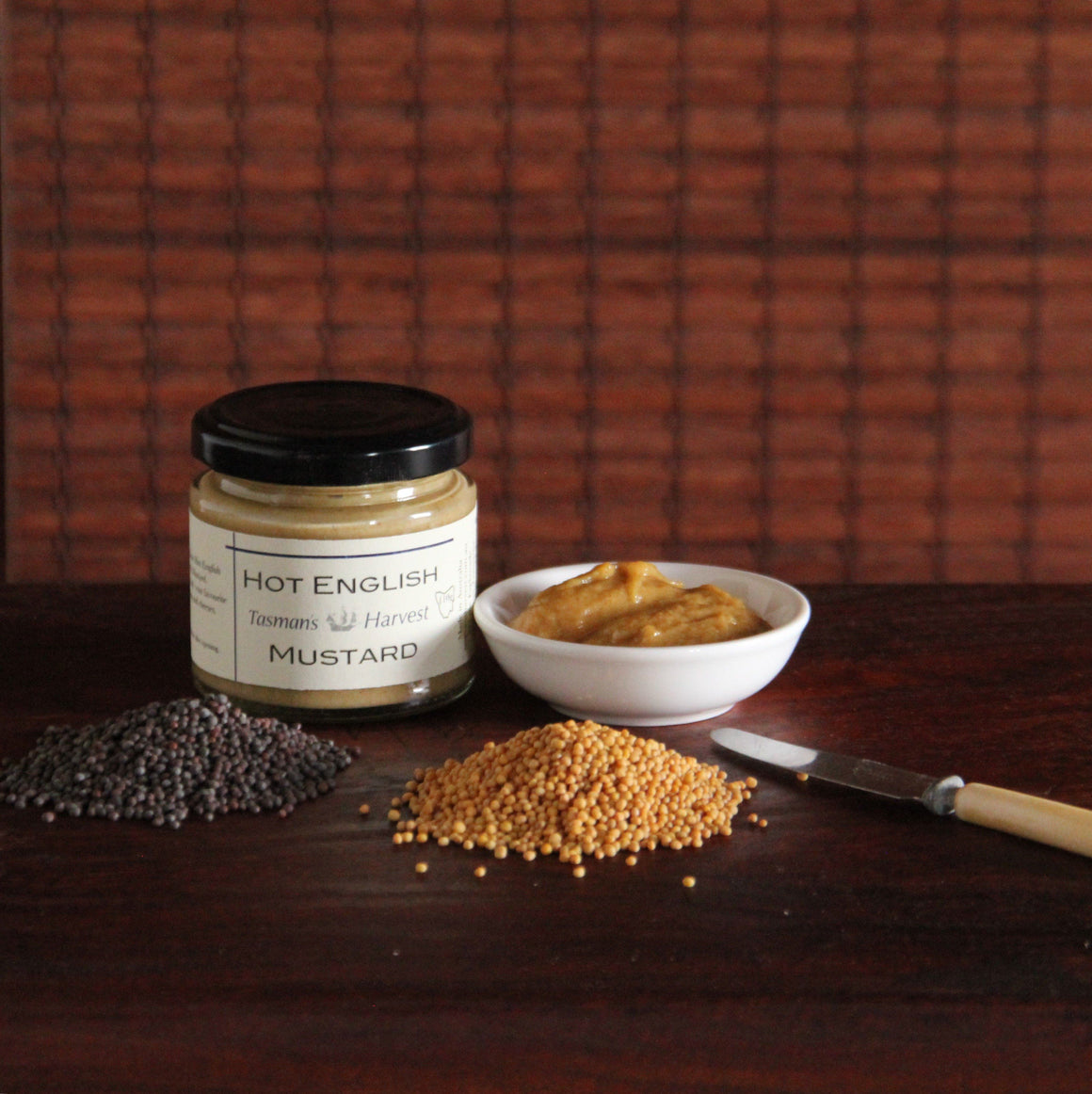 Tasman's Harvest Hot English Mustard