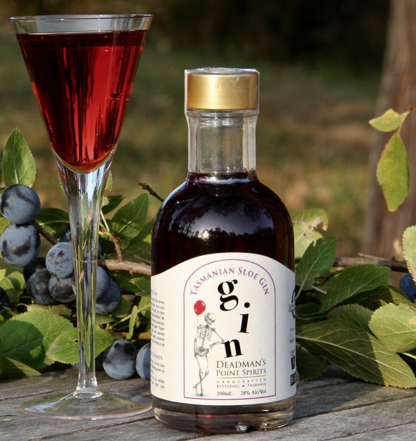 Tasmanian Sloe Gin  Deadman's Point