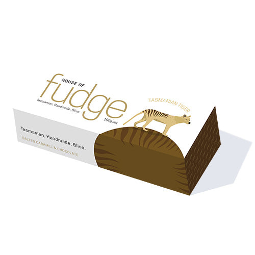 House of Fudge Tasmanian Tiger • Salted Caramel and Chocolate