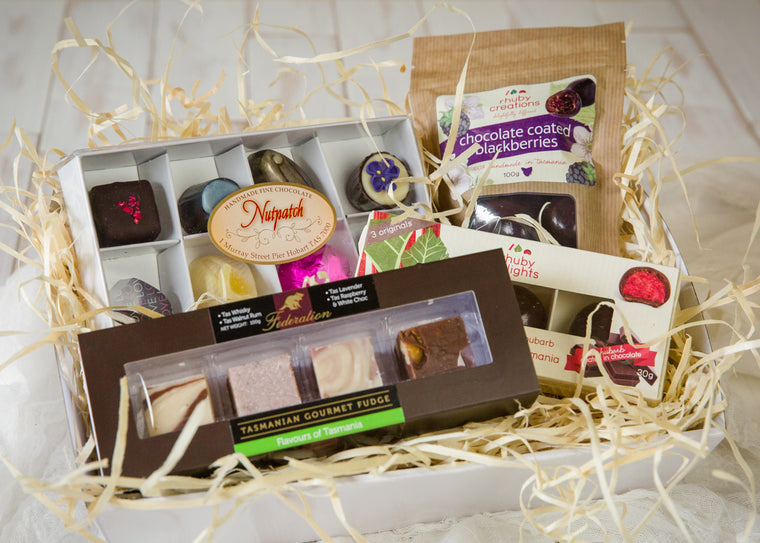 Easter gifts and hampers tasmanian gourmet online easter gift chocolate indulgence negle Gallery