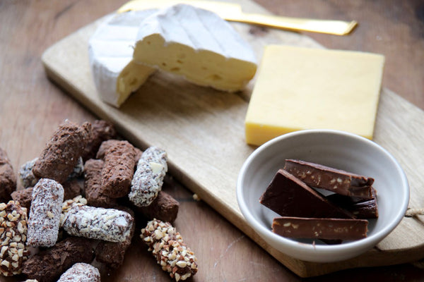 Indulgence of Cheese and Chocolates Gourmet Gift Hamper - Tasmanian Gourmet Online