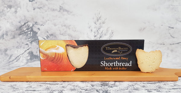 Leatherwood Honey Shortbread