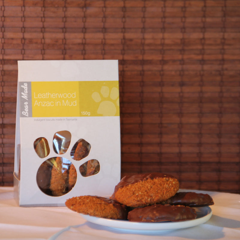 Leatherwood Honey ANZACs in Mud - Tasmanian Gourmet Online