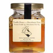 Truffle honey with macadamia nuts   - Tasmanian Gourmet Online