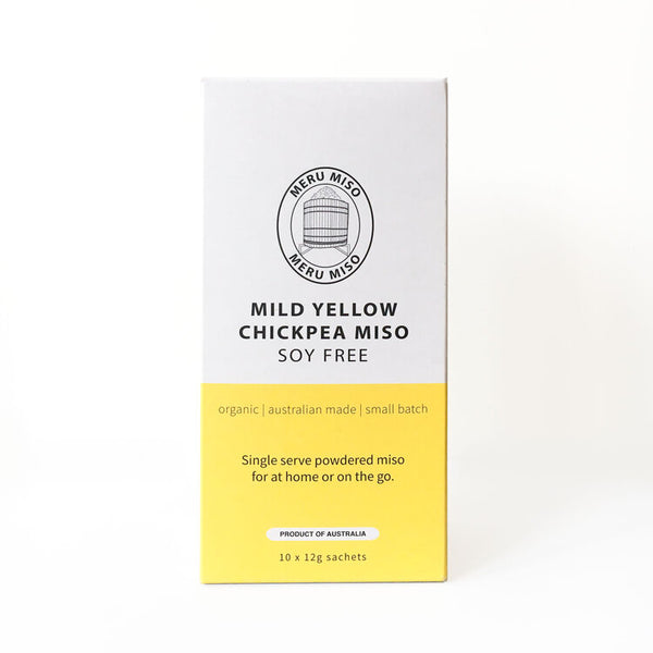 Meru Miso Yellow Chickpea Sachets