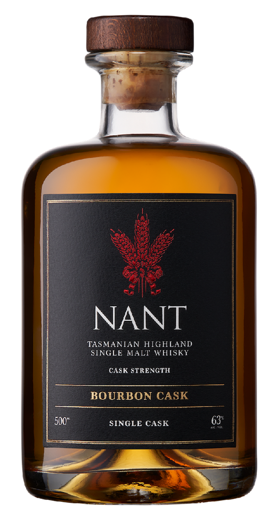 Nant Single Malt Whisky Bourbon Cask 63% ABV