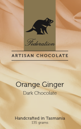 Federation Chocolate Orange and Ginger - Tasmanian Gourmet Online