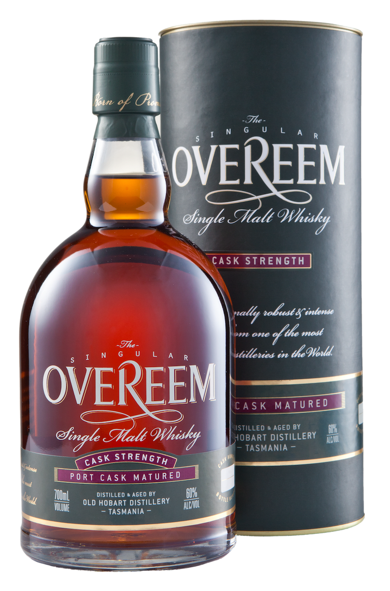 Overeem Single Malt Whisky Port Cask 60% ABV
