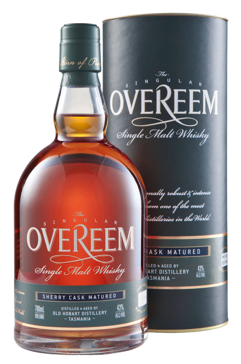 Overeem Single Malt Whisky Sherry Cask 43% ABV