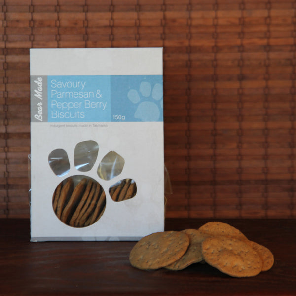 Parmesan and Pepperberry Crackers - Tasmanian Gourmet Online