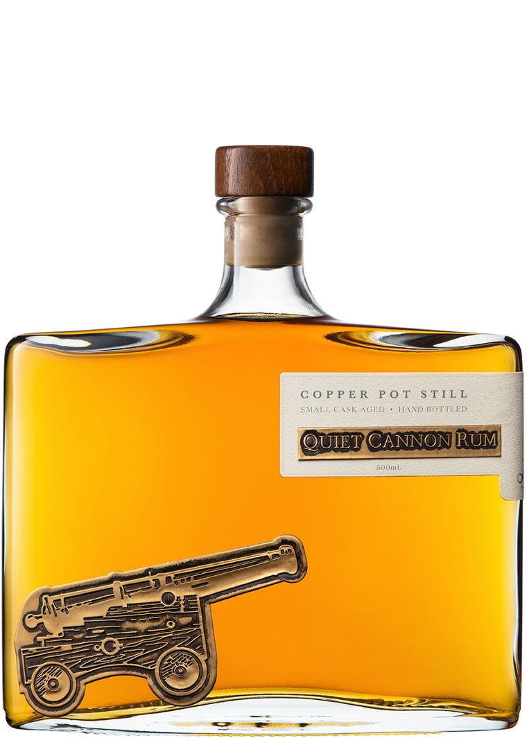 Lark Distillery Quiet Cannon Rum ABV 50%
