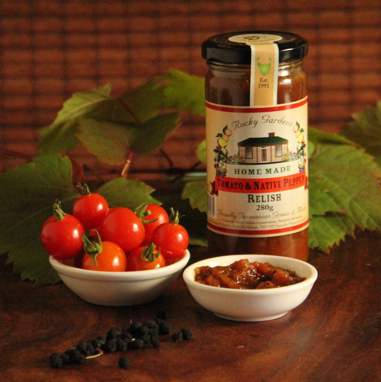 Tomato and Native Pepper Chutney - Tasmanian Gourmet Online