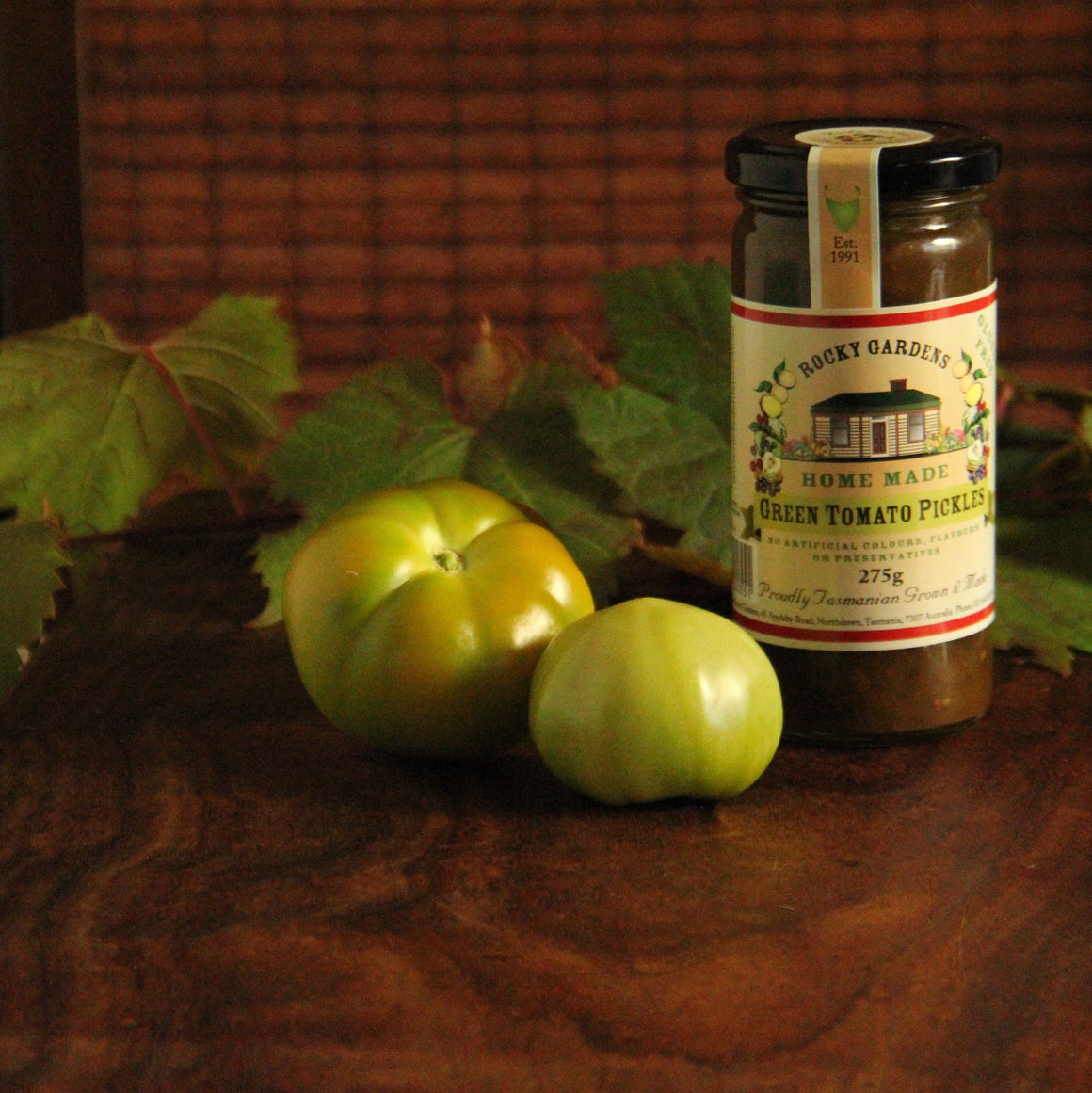 Green Tomato Pickles
