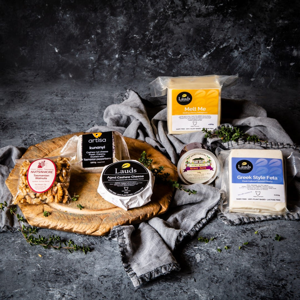Tasmanian Vegan Cheese Selection - Tasmanian Gourmet Online