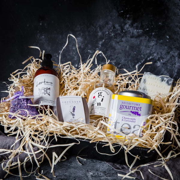Christmas Vegan Gift  Pamper Hamper with a Tasmanian Gin