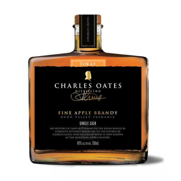Charles Oates Fine Apple Brandy – Tokay