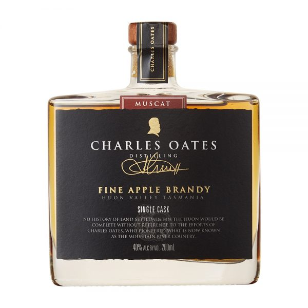 Charles Oates Apple Brandy – Single Cask Muscat Release