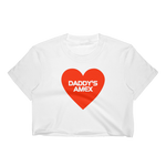 Daddy's Amex Crop Top