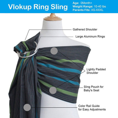 baby ring sling cloud