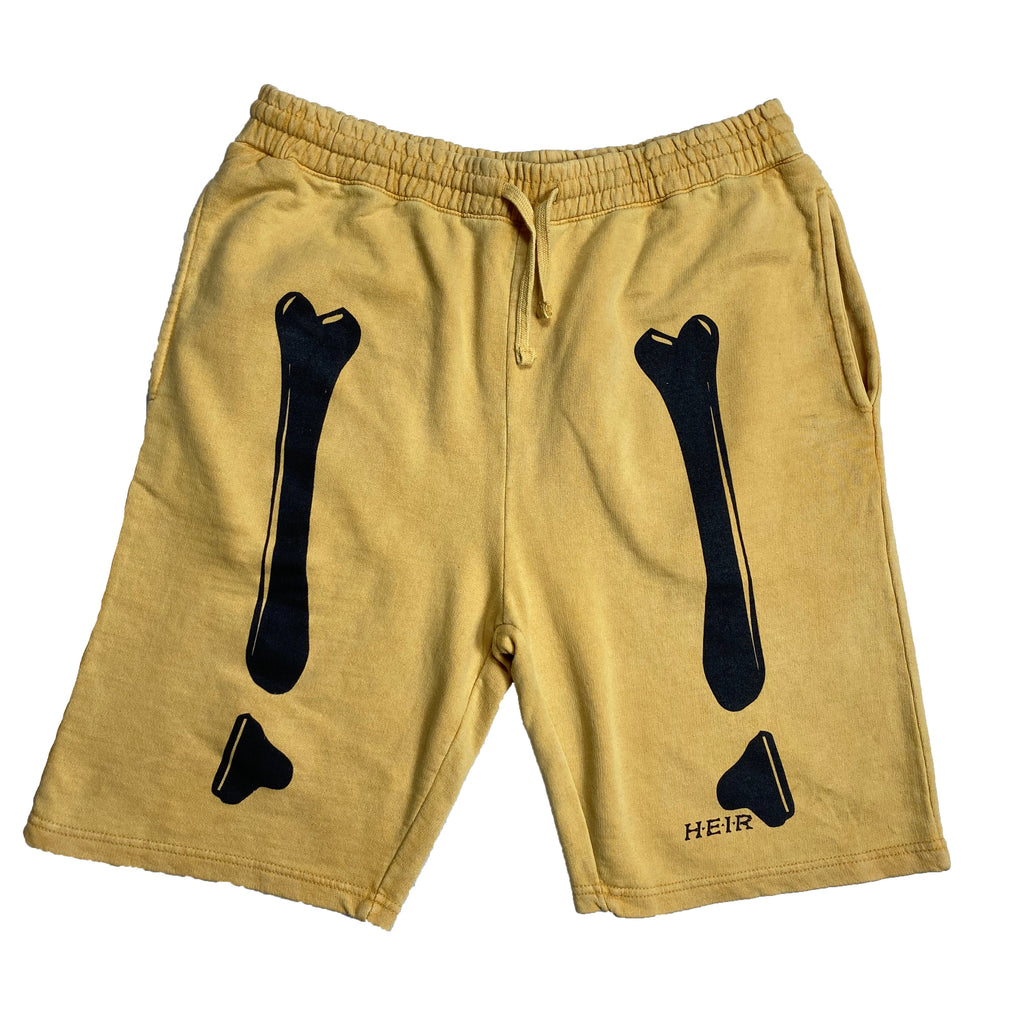 Bones Sweat Short Mustard