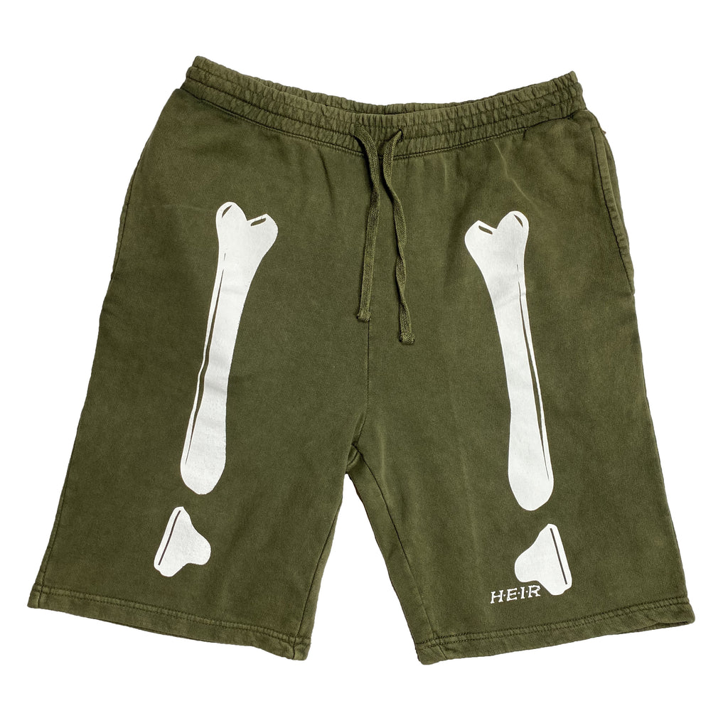 Bones Sweat Short Olive