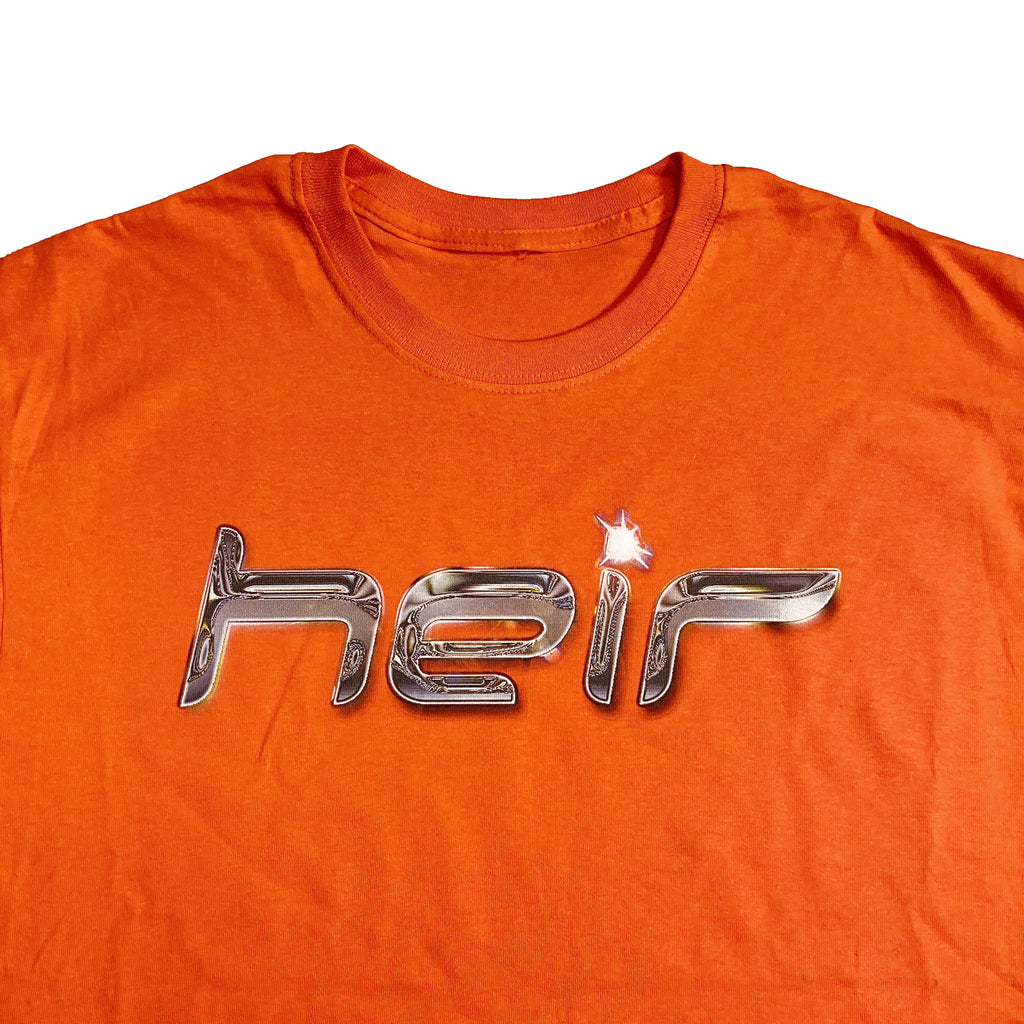 Chrome Logo T-shirt Orange