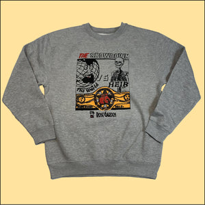 The Showdown Crewneck Sweatshirt Heather Gray