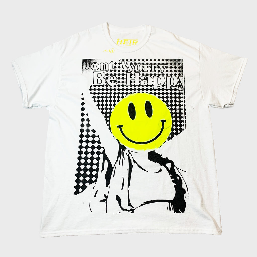 Don't Worry T-Shirt White