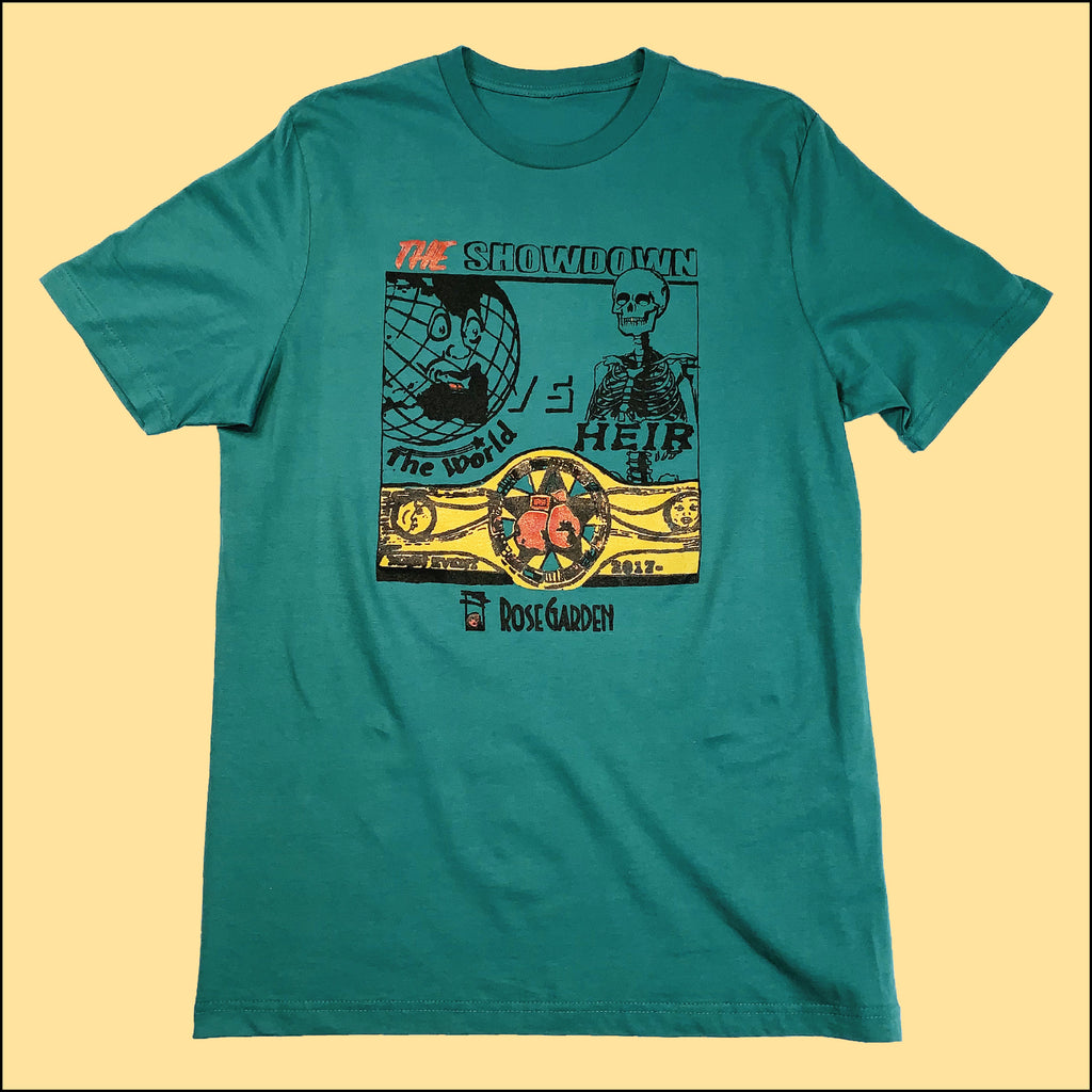 The Showdown T-Shirt Teal