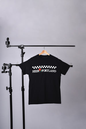 HEIR RADIO CAB TEE (BLACK)