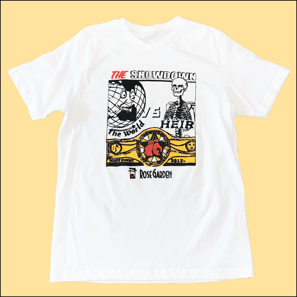 The Showdown T-Shirt White