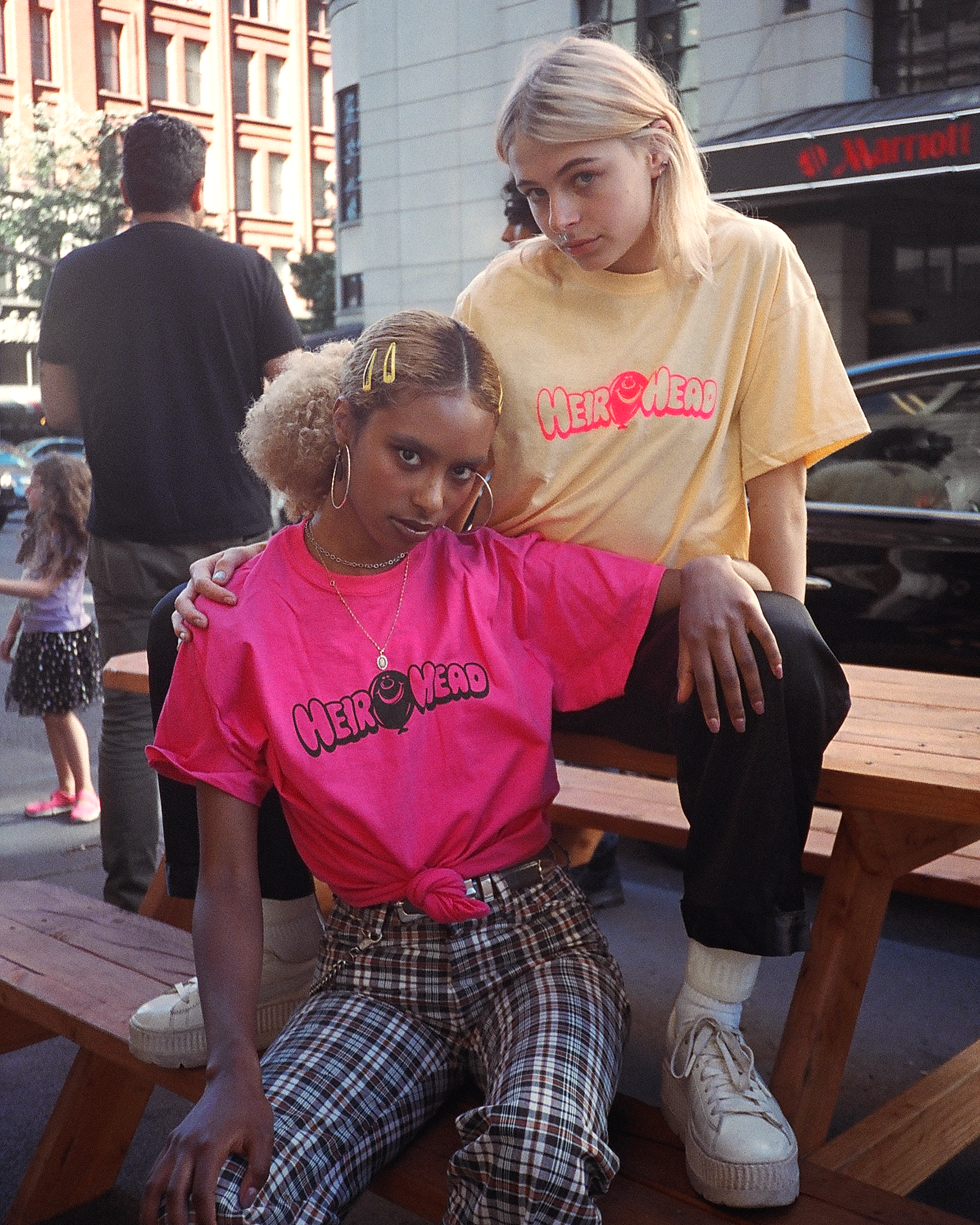 Heir Head Tee (Pink Lemonade)