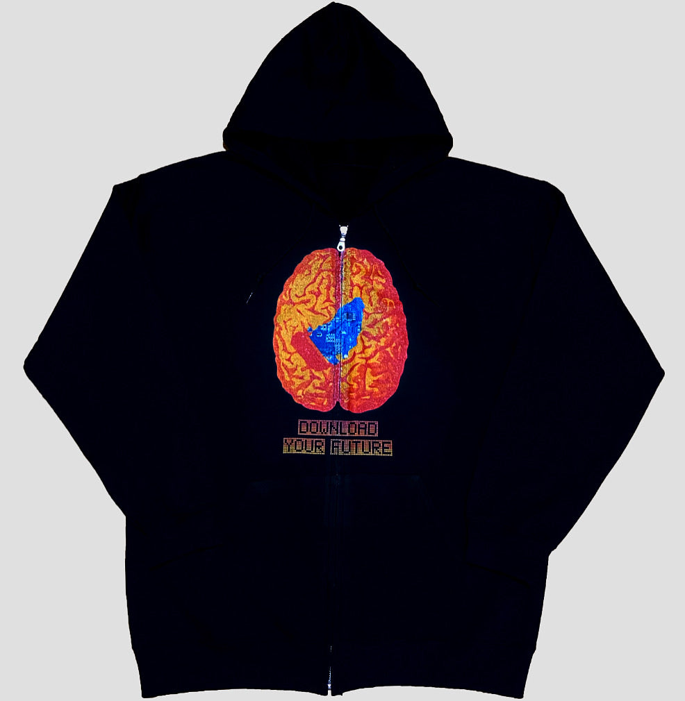 Download Your Future Zip Hoodie