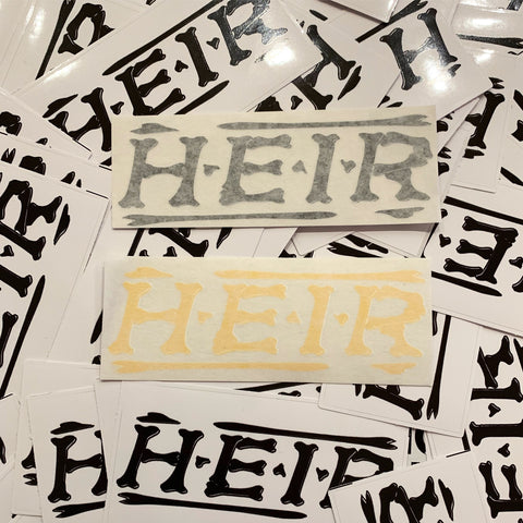 Heir decal (x2)