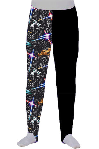 BOYS PANTS - LONGS - GALACTIC BLACK