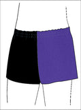 Boys Black Purple Gymnastics Dance Gym Shorts Inspire xo