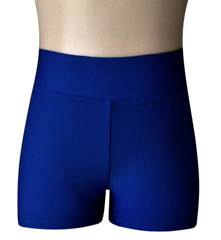 HI WAISTED ACTIVE SHORTS - 4 colours