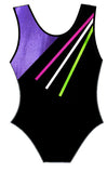 Pink Purple Black Leotard Gymnastics Dance Gym Inspire xo
