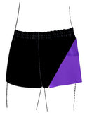 Boys Gymnastics Dance Gym Shorts Black Purple Inspire xo