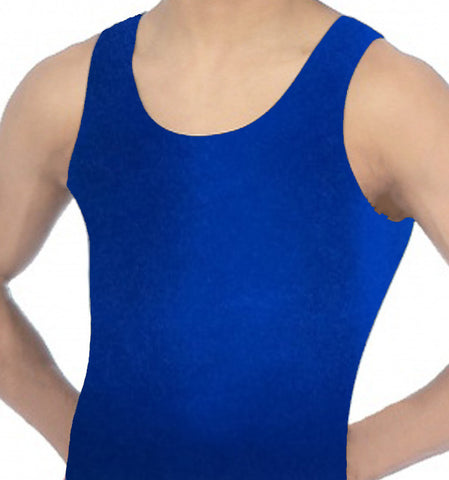 Boys Blue Leotard Biketard Gymnastics Dance Gym Inspire xo