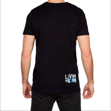 Stroke Mens Black T Shirt by Skin Industries