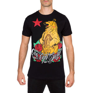 Cali Oso Skater T Shirt by 187 Inc