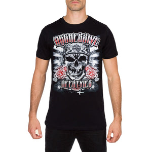 Cold Mens Black T Shirt by Aggressive Lifestyles