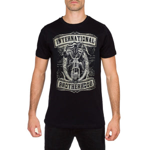 Crusader Mens Black T Shirt by Aggressive Lifestyles