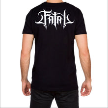 Born Free Hippie Mens Black T Shirt by Fatal Clothing