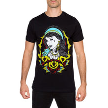 Framed Mens Black T Shirt by Fatal Clothing