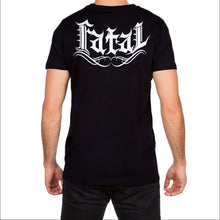 Roses Design Mens Black T Shirt by Fatal Clothing