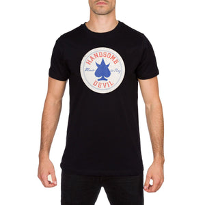 All Star Mens Black T Shirt by Handsome Devil