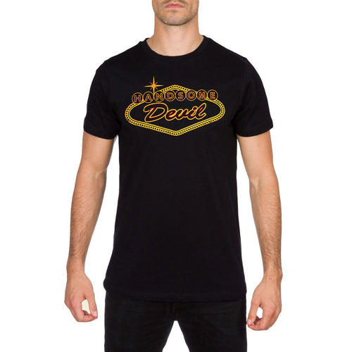 Sin City Las Vegas Mens Black T Shirt by Handsome Devil