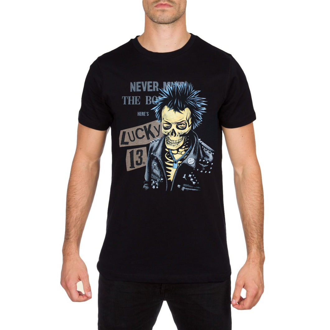 My Way Men's Elvis Black T Shirt by Lucky 13